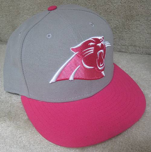 dab90724097 NFL Carolina Panthers Ladies Baseball Hat Cap by New Era 7 3 8 ...