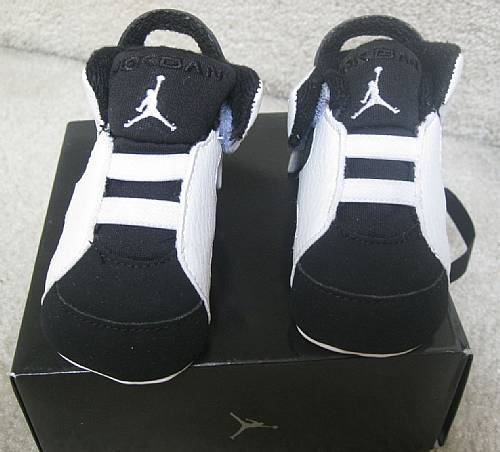 Nike Jordan 6 Retro Baby Shoes Brand New In Box Size 2c