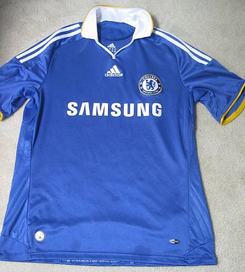 sale retailer 91de3 644ee Chelsea FC Football Club Samsung Shirt Medium – RonSusser.com