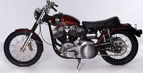 Walt Siegl Custom Built Motorcycle known as Speedglide – RonSusser com