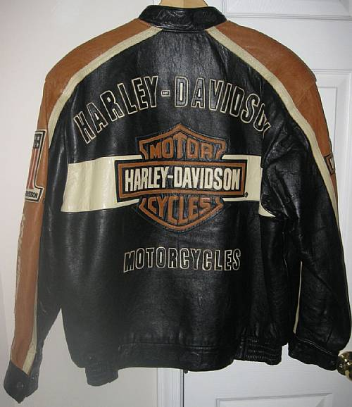 Harley Davidson Authentic Rare Prestige Lambskin Leather Jacket XL