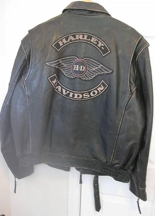 Harley Davidson Authentic Motorcruise Vintage Leather Jacket 2XL U2013 RonSusser.com