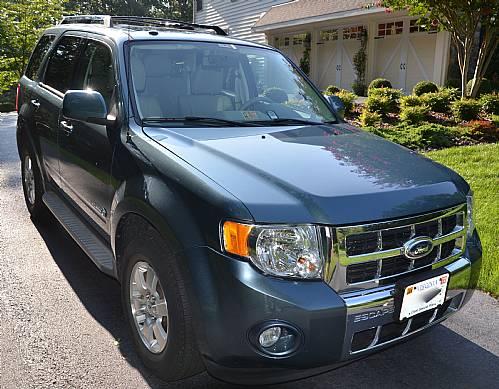 2010 Ford Escape Hybrid Limited Steel Blue Ronsusser Com