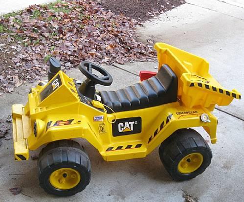 Truck Battery: Power Wheels Caterpillar Dump Truck Battery