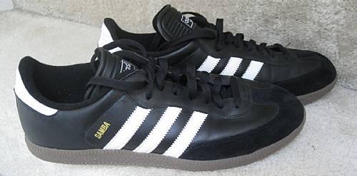 e04bb0972cc Adidas Samba Black White 034563 Mens Indoor Soccer Shoes Size 12 ...