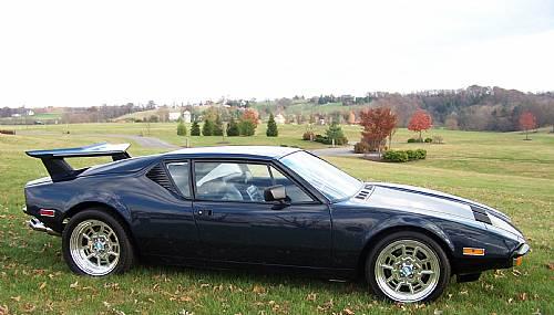 1973 Detomaso Pantera Show Car One of a Kind  RonSussercom