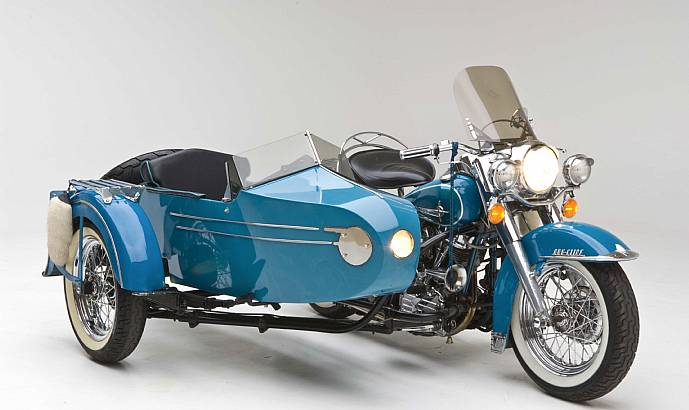 1959 Harley Davidson Panhead Duo Glide With 1958 Sidecar Ronsusser Com