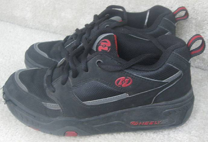 heelys roller rebel shoes style 7080 size youth 5 dual