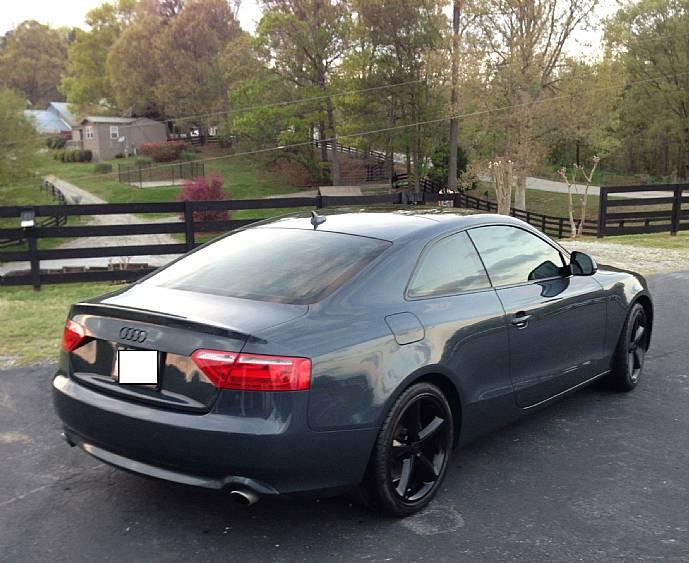 2009 audi a5 3 2 quattro luxury sport coupe premium nav 6. Black Bedroom Furniture Sets. Home Design Ideas