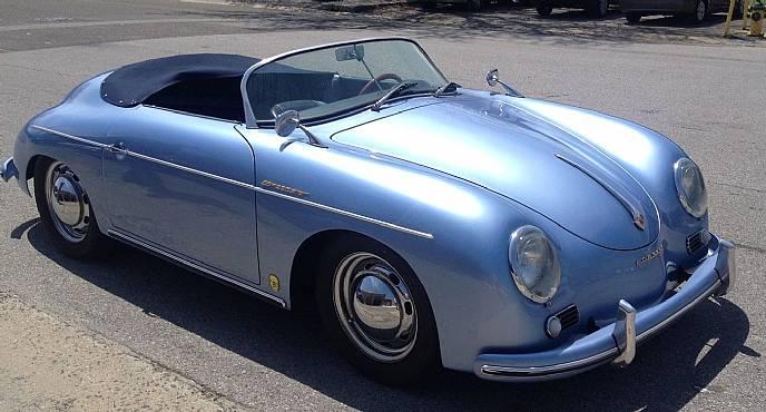 1957 Porsche Speedster Cabriolet Replica By Jps