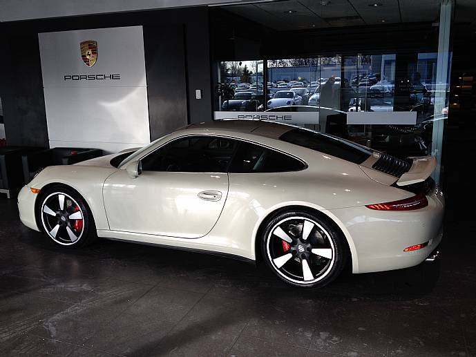 2014 porsche 911 carrera 50th anniversary coupe mso 39 miles. Black Bedroom Furniture Sets. Home Design Ideas