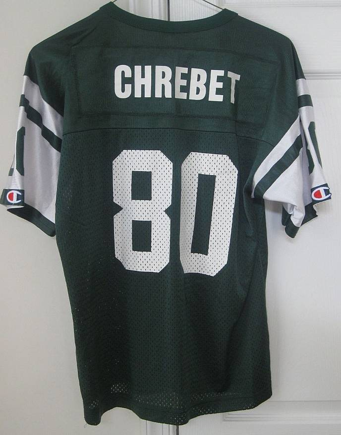 huge selection of bb285 f1cd5 NFL New Year Jets #80 Wayne Chrebet Replica Jersey Youth ...