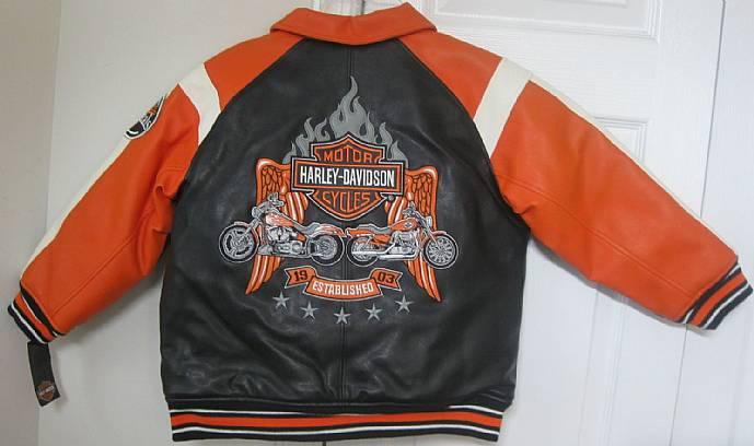 Harley Davidson Jacke für Kinder