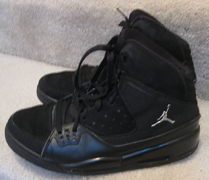 Nike Jordan SC-1 Black Metallic Silver