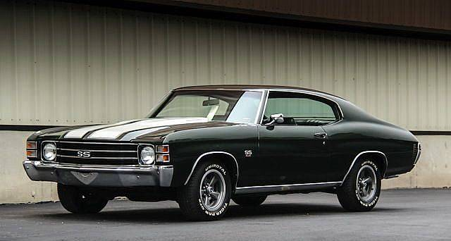 1971 chevrolet chevelle ss tribute 454 engine green on. Black Bedroom Furniture Sets. Home Design Ideas