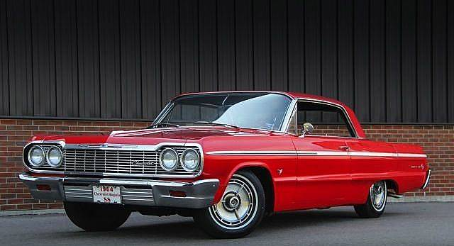 1964 Chevrolet Impala Ss Riverside Red Restored Beauty Ronsusser Com