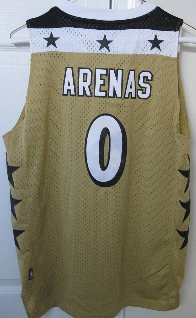 7083e2850 NBA Washington Wizards Gilbert Arenas Jersey Youth Large by Adidas ...
