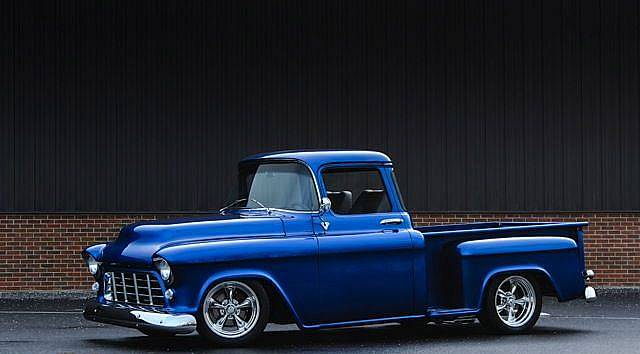1956 Chevrolet Half Ton Pickup Show Truck Custom Pearl