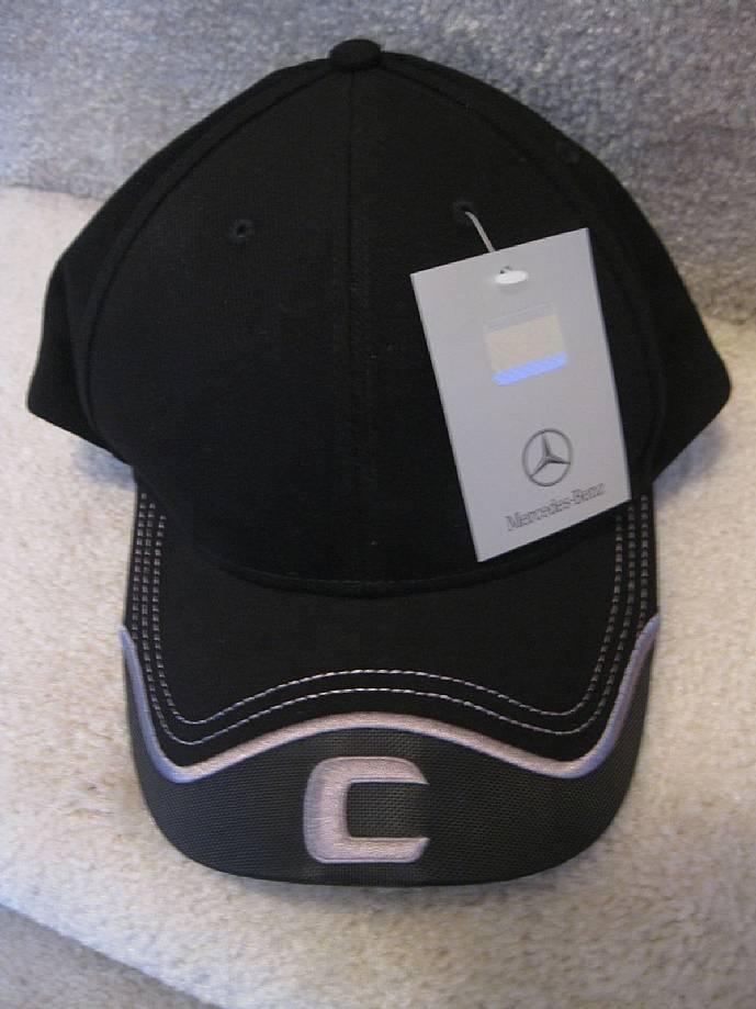 Mercedes benz c class baseball hat cap brand new nwt for Mercedes benz baseball caps