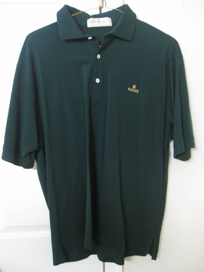 Rolex Mens Golf Polo Shirt Kelly Green Large – RonSusser.com