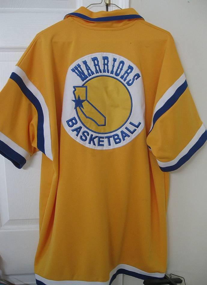 new concept 574df 075dd NBA Golden State Warriors Hardwood Classics Jersey Shirt by ...