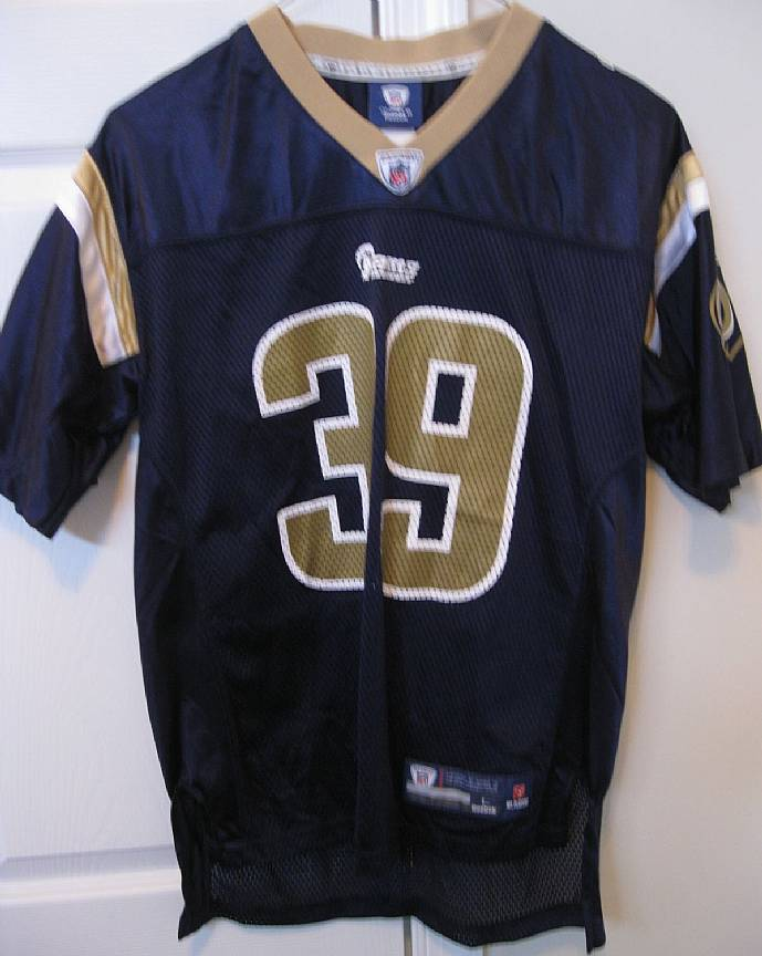 NFL St. Louis Rams Steven Jackson  39 Youth Jersey Large (14-16) by Reebok e9c2146ea