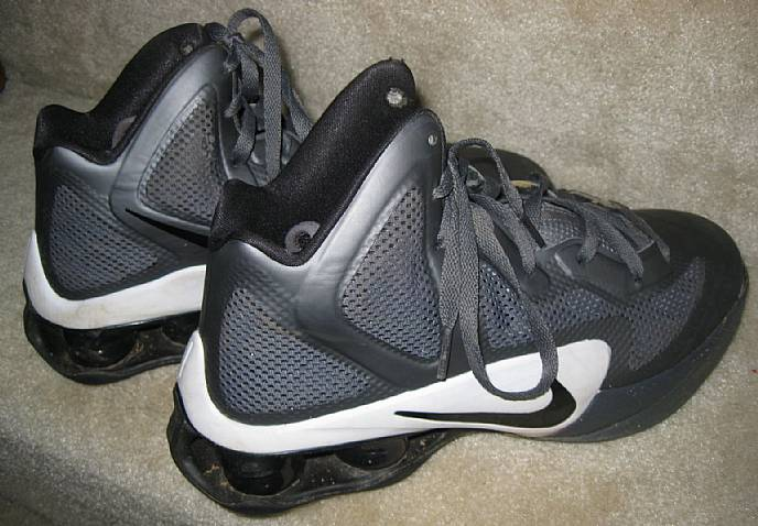 best website 1277f f6324 Nike Mens Shox Air Hyperballer Basketball Shoes Size 10 Style 454154 ...