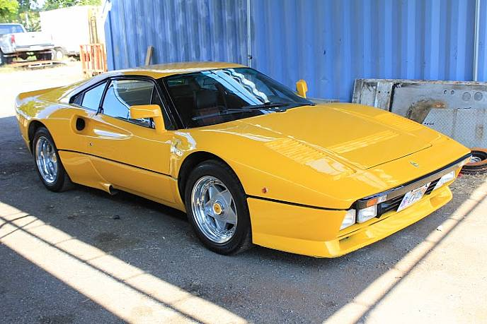 1979 ferrari 308 gtb with 288 body kit yellow foreign exotic cars ronsuss. Black Bedroom Furniture Sets. Home Design Ideas
