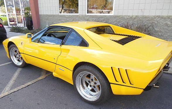 1978 Ferrari 308 GTB with 288 Body Kit Yellow – RonSusser.com