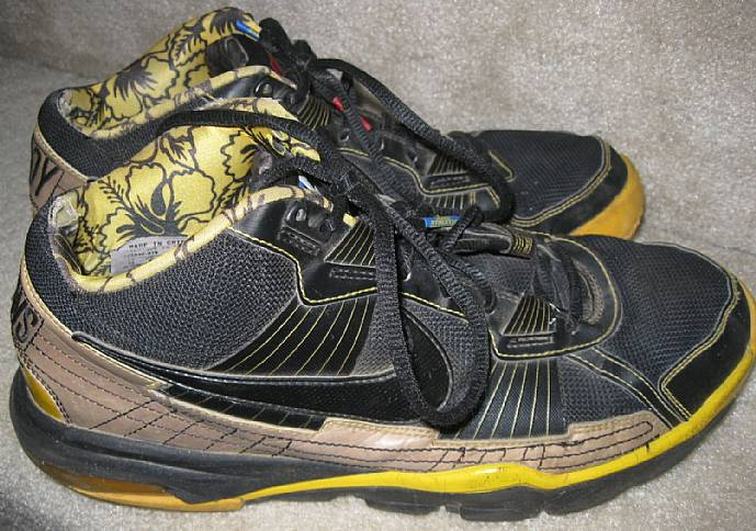 hot sale online 6c324 a8721 I am pleased to offer these Nike 2010 Troy Polamalu Pittsburgh Steelers  trainers SC sneakers. Size is 10 and style is 395940-076. Shoes are in good  ...
