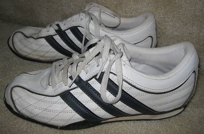 Adidas David Beckham Mens Athletic Shoes White Sneakers 8.5