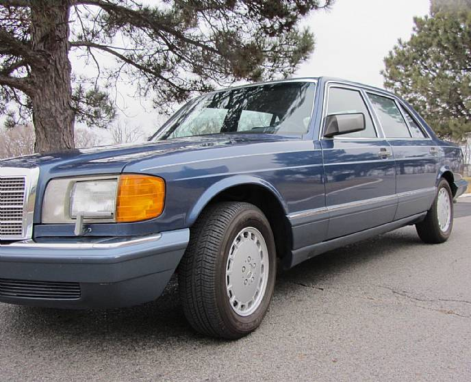 1989 Mercedes Benz 420 Sel Well Maintained Tons Of