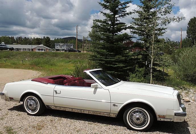 1982 Buick Riviera Convertible 18k Miles Incredible Time Capsule