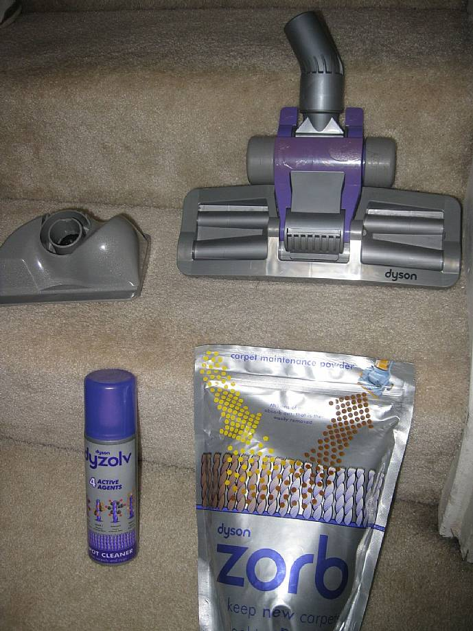 Dyson Oem Carpet Cleaning Kit Zorb Dysolv Amp Zorb Groomer