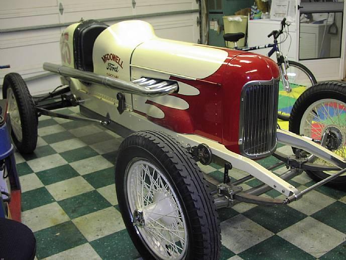 1932 Model A Mcdowell Ford Sprint Car Fully Restored