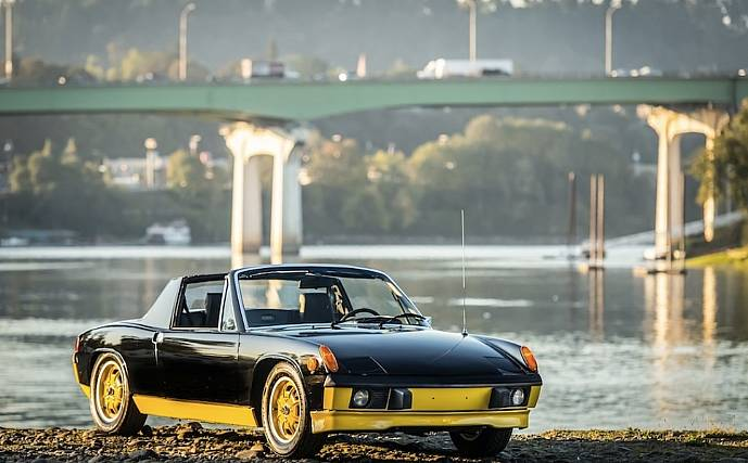 I Am Pleased To Offer This Ultra Rare 1974 Porsche 914le With Can Option Only 1000 Were Produced In 2 Color Combinations Is The Black Car