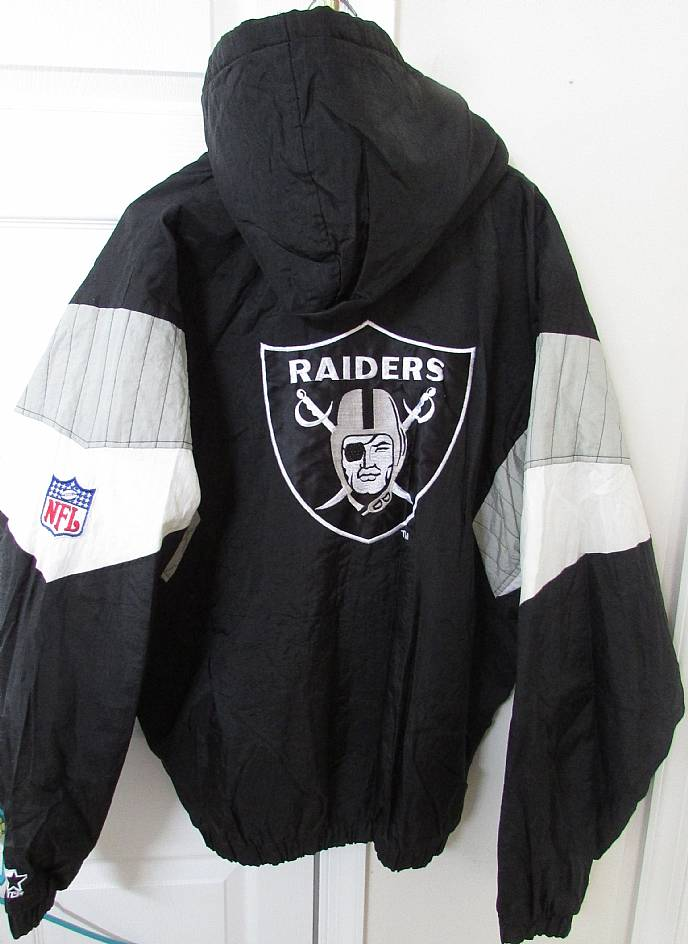 on sale 5ce49 1303f NFL Oakland Raiders Hoodie Jacket XL by Starter High Quality ...
