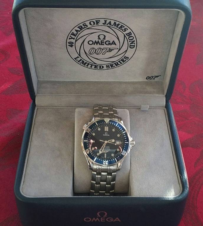 Omega Seamaster James Bond 40 Years Limited Edition Watch