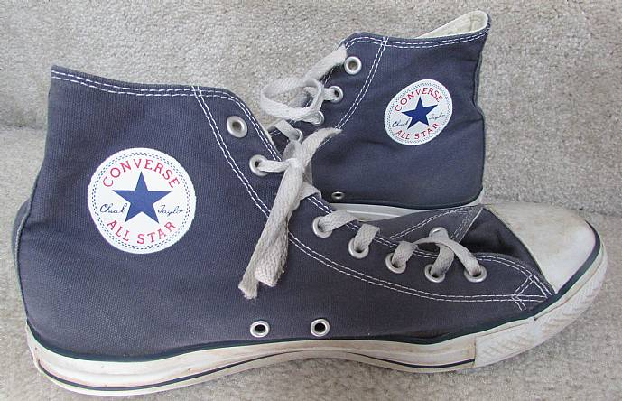 56184878e2c2 Converse Unisex All Star High Top Navy Chuck Taylor M9622 Shoes Mens ...