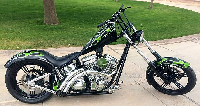2001 west coast choppers el borracho custom built chopper. Black Bedroom Furniture Sets. Home Design Ideas