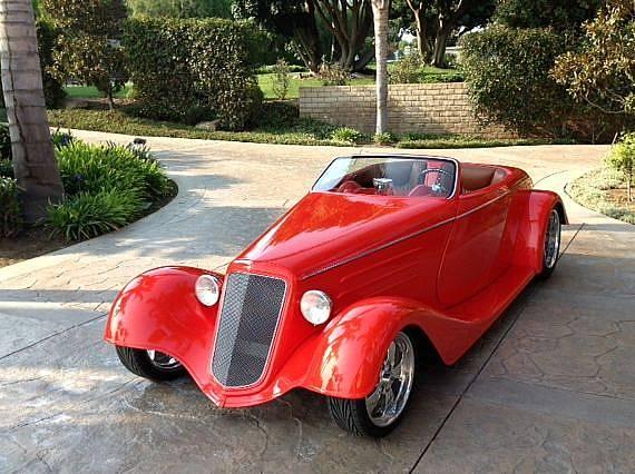 1933 Custom Chevy Street Rod Roadster Ronsusser Com