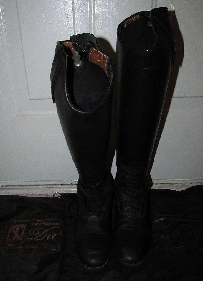 Tredstep Ireland Da Vinci Field Boots Black 40 Xslim Tall
