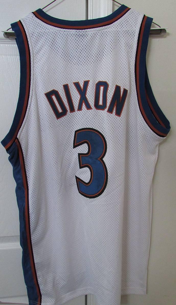 Nba Washington Wizards Juan Dixon 3 Jersey By Nike Team Adult Size 44 Ronsusser Com