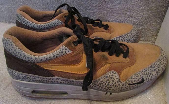 2003 Nike Air Max 1 B Atmos Safari Orange Supreme sz 12