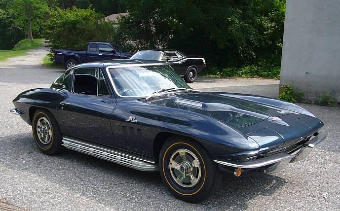 1966 Corvette 427 390hp Laguna Blue 4 Speed Heavily