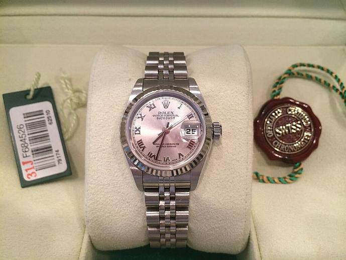 Rolex Ladies Stainless...