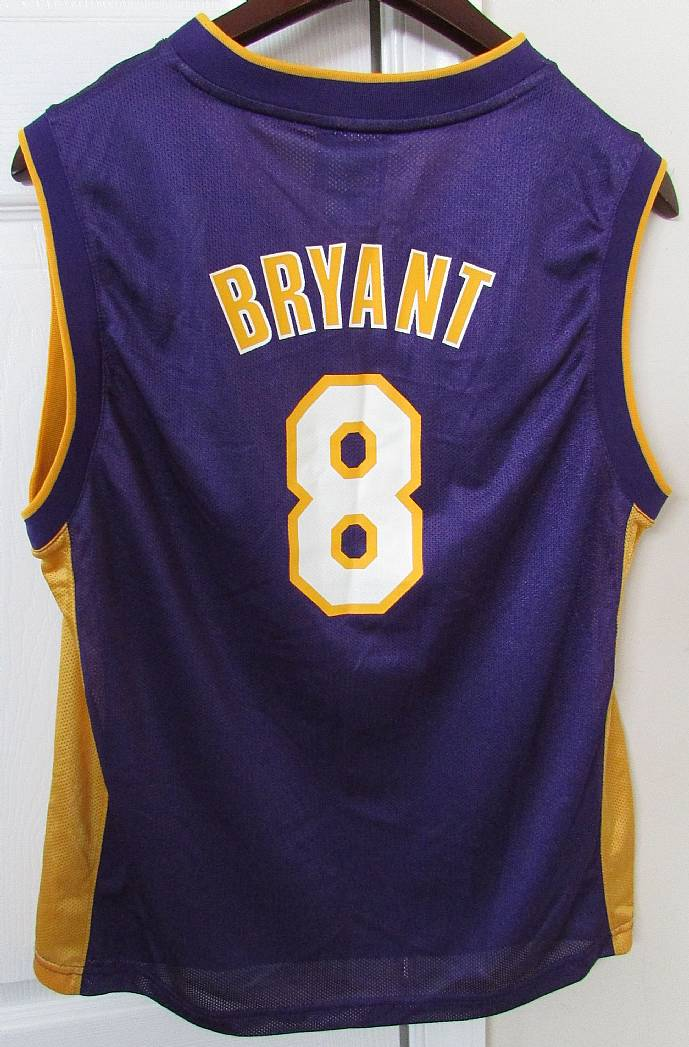 promo code 8bdd9 f92e1 NBA Los Angeles Lakers Kobe Bryant Jersey Youth Large #8 by ...