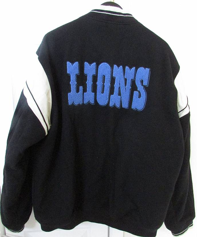 official photos e1707 b0df7 NFL Detroit Lions Jacket by Reebok XL Team Issued Coach ...