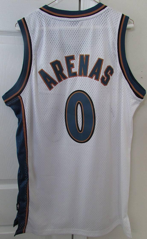 86391ff62 NBA Washington Wizards Gilbert Arenas  0 Jersey by Adidas Medium ...