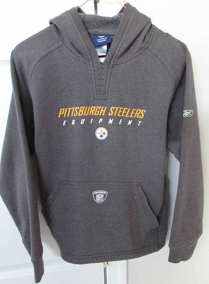 reputable site 5919f 730ae NFL Pittsburgh Steelers Hoodie Sweatshirt Youth Medium (10 ...